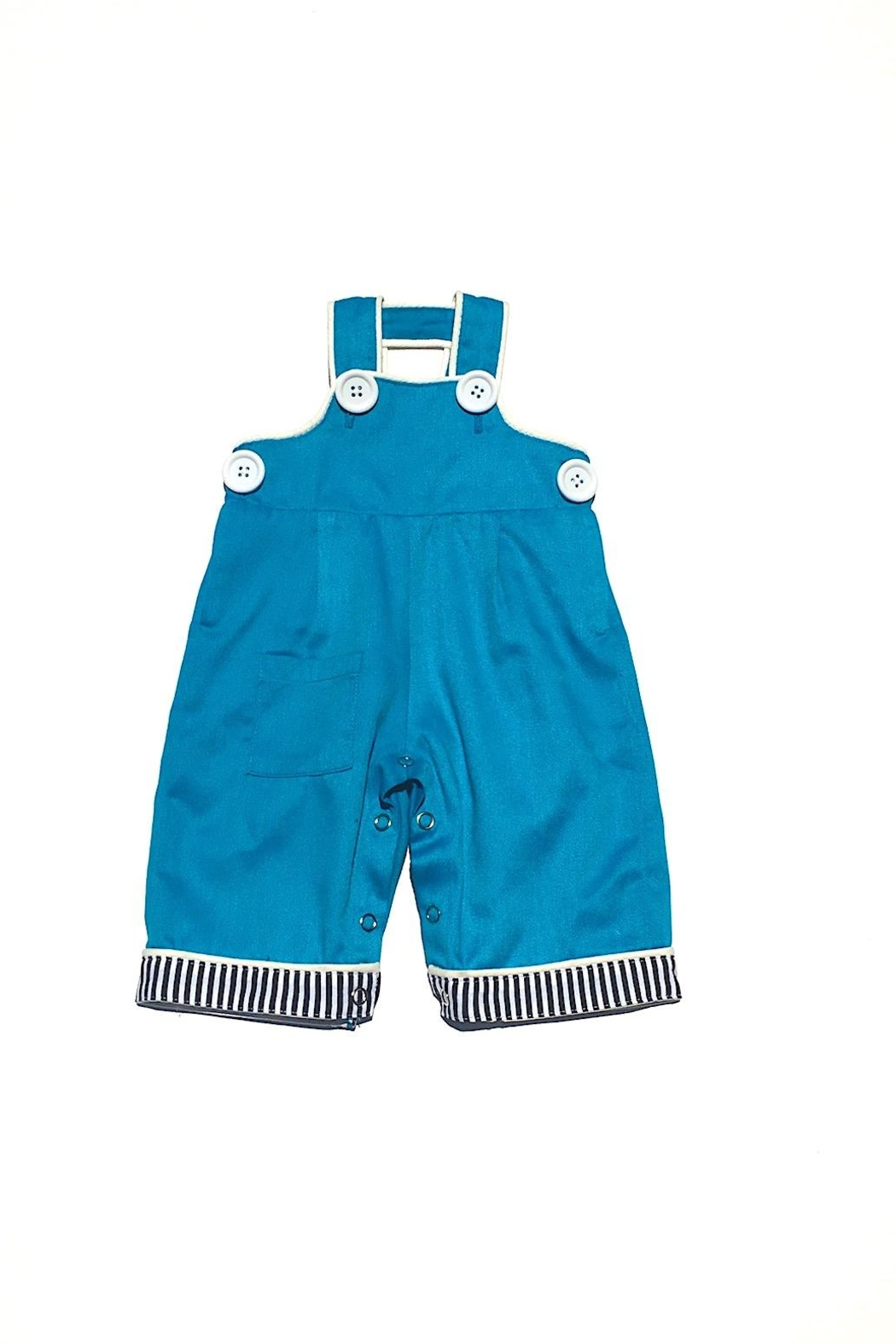 Runaway Pony Retro Overalls - Front Cropped Image