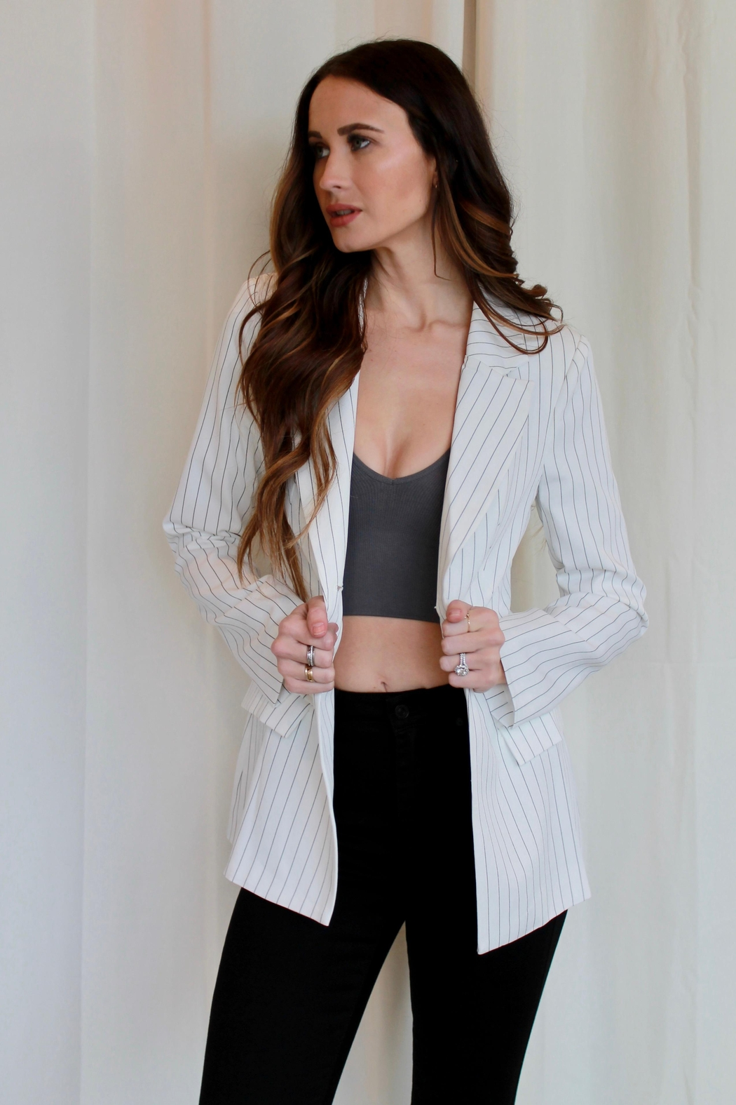 Runaway The Label Every Woman Blazer - Back Cropped Image
