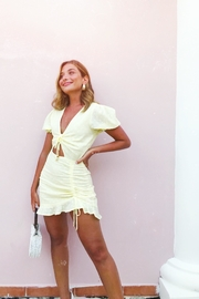 Runaway The Label Lemoncello Mini Dress - Product Mini Image