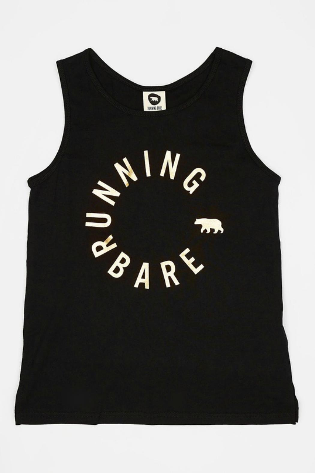 Running Bare Girls Workout Top - Front Full Image