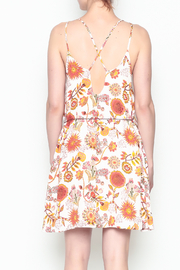 Runway & Rose Floral Print Dress - Back cropped