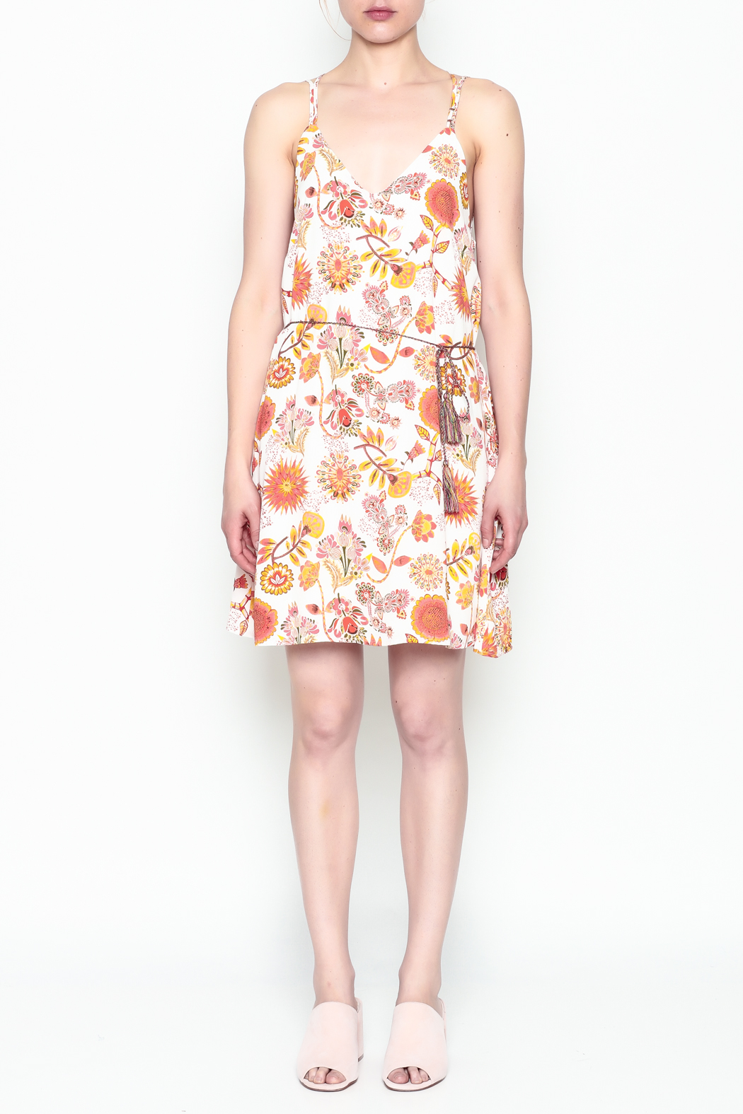 Runway & Rose Floral Print Dress - Front Full Image
