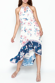 Runway & Rose Halter Floral Dress - Product Mini Image
