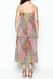 Runway & Rose Patchwork Print Dress - Back cropped