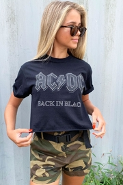 Runway & Rose Acdc Back In Black - Front cropped