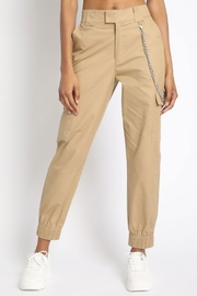 Runway & Rose Chain Cargo Pants - Side cropped
