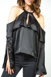 Runway & Rose Cold Shoulder Top - Product Mini Image