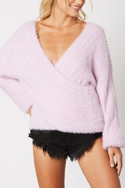 Runway & Rose Cross-Over Sherbert Sweater - Product Mini Image