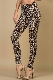 Runway & Rose Leopard Print Leggings - Product Mini Image