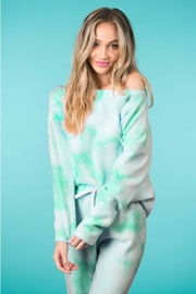 Runway & Rose Off-The-Shoulder Tie-Dye Top - Product Mini Image