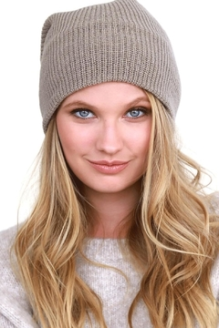 Shoptiques Product: Ribbed Knit Beanie
