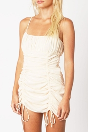 Runway & Rose Ruched Heart Dress - Front full body