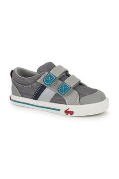 See Kai Run  Russell Gray/Teal - Product List Image