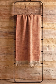 Uniq'uity Rust Blunt Throw - Product Mini Image