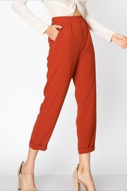 Favlux Rust Cigarette Pants - Product Mini Image