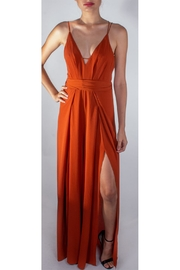luxxel Rust Dragonfly Jumpsuit - Product Mini Image