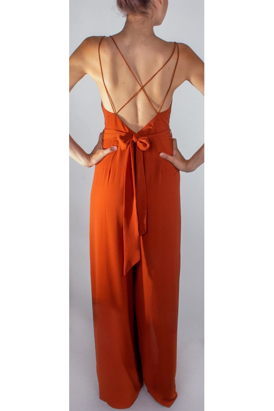 c6d829f6bfc luxxel Rust Dragonfly Jumpsuit from Los Angeles by Goldie s — Shoptiques