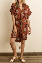 dress forum Rust Kimono Dress - Product Mini Image