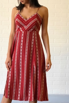 Shoptiques Product: Rust Print Dress