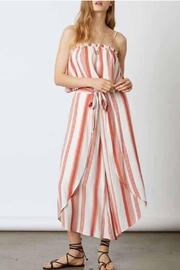 Cotton Candy Rust Stripe Top - Product Mini Image