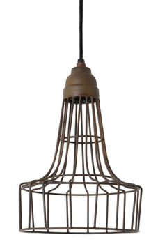 Shoptiques Product: Rust Wire Light 1