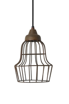 Shoptiques Product: Rust Wire Light 2