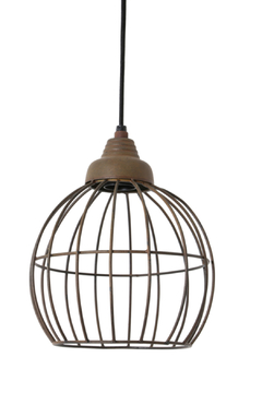 Shoptiques Product: Rust Wire Light 3