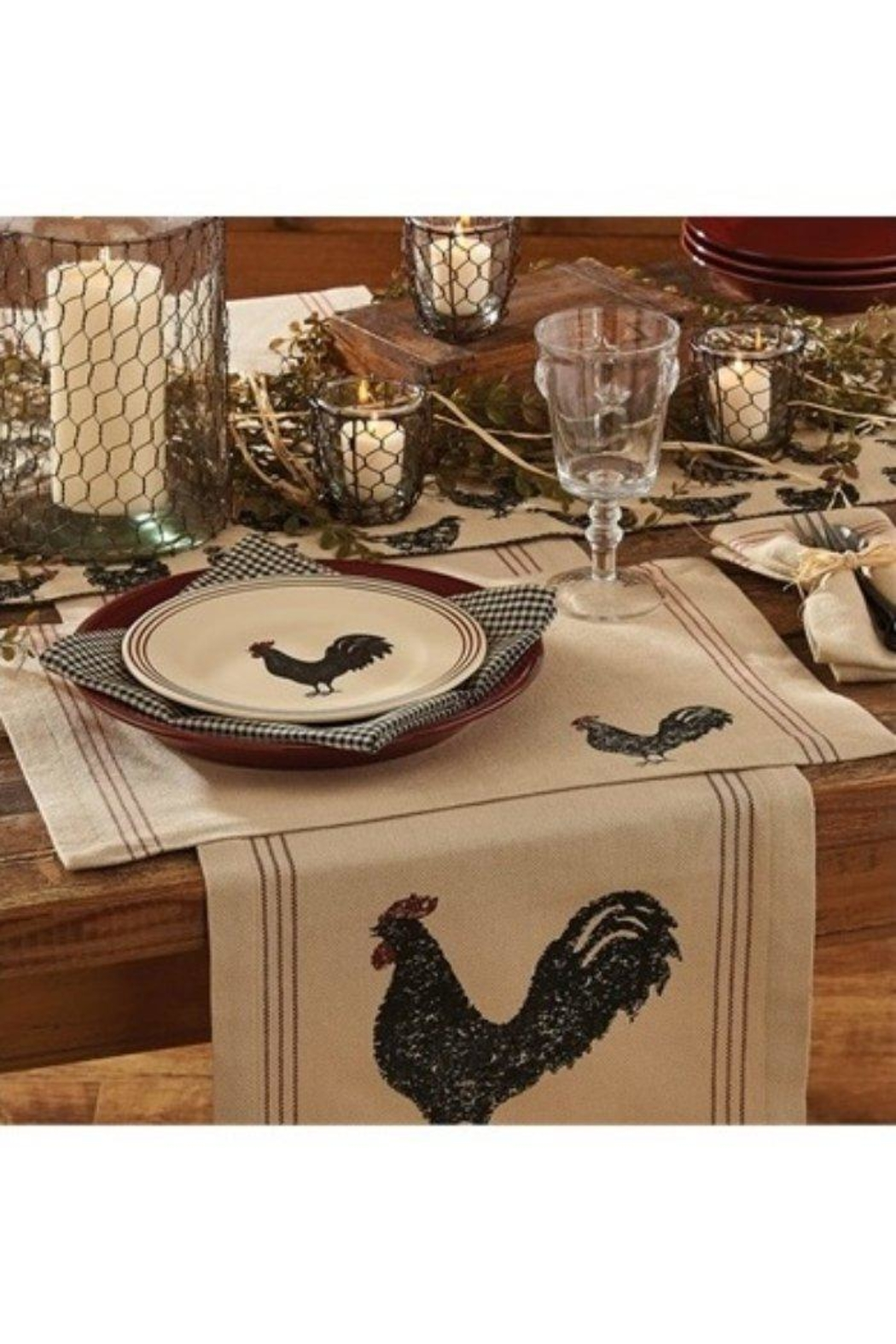Park Designs Rustic Rooster Placemat - Main Image