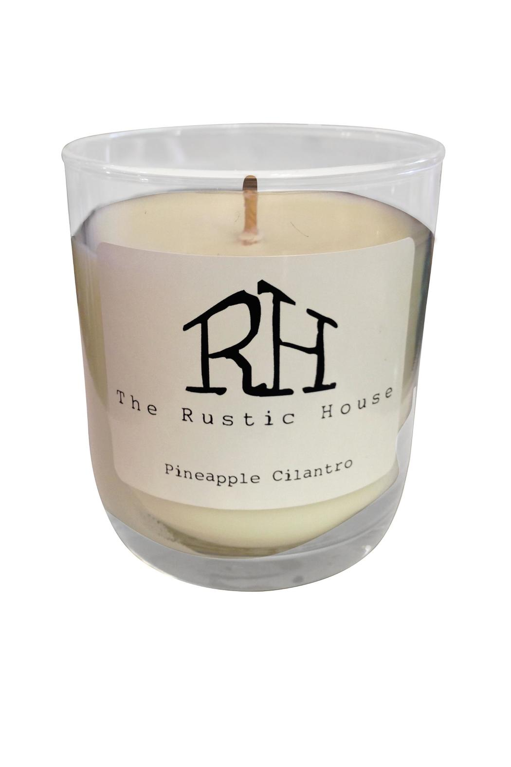 Rustic house pineapple cilantro candle from woodstock by for Rustic house candles