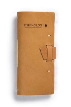 Shoptiques Product: Leather Fishing Log