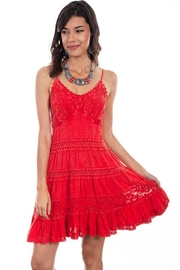 Scully Rusty Red Dress - Product Mini Image