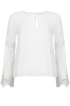 Rut&Circle Margaux White Top - Product List Image