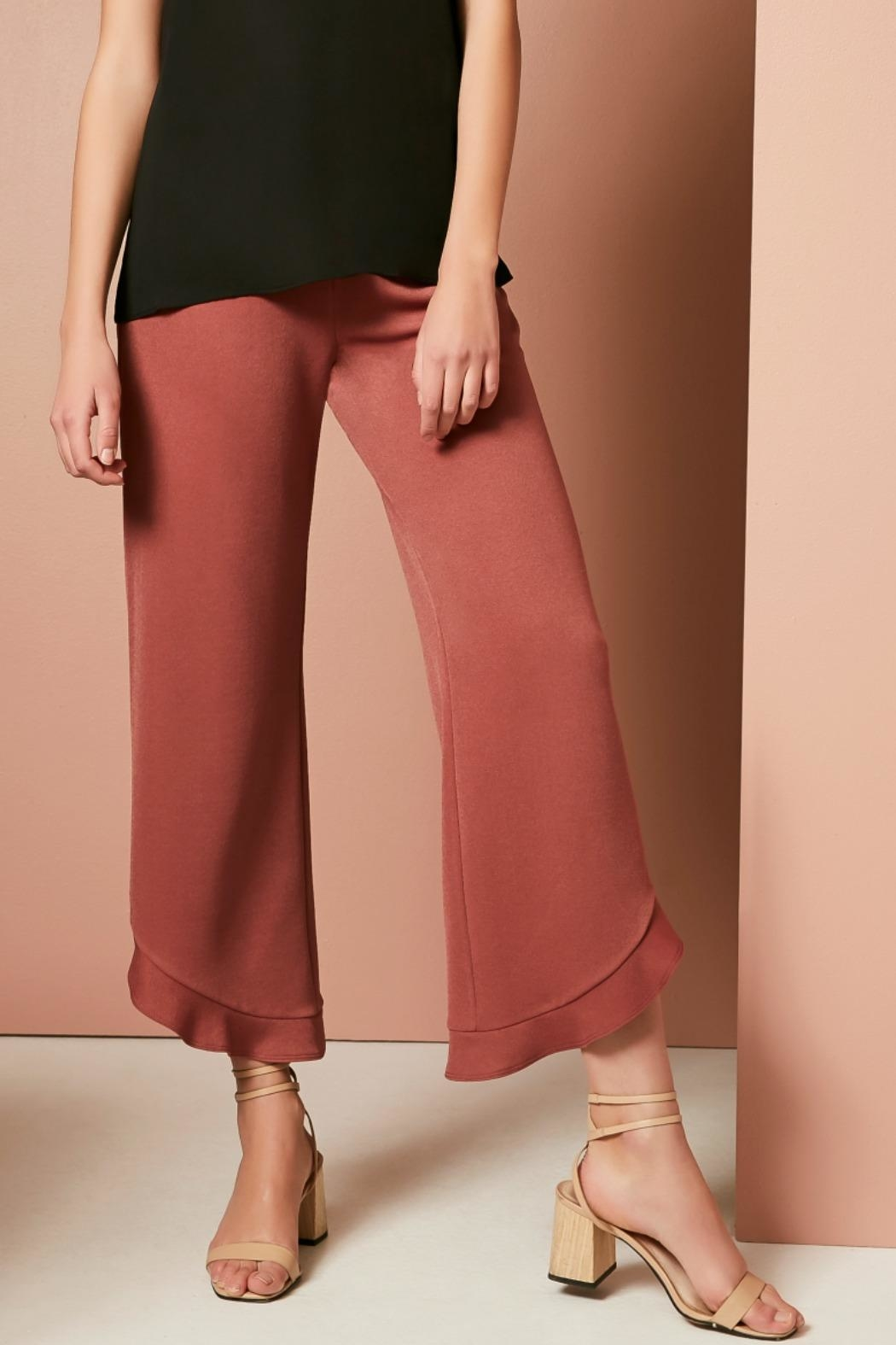 Three Eighty Two Ruth Ruffle Pant - Front Full Image