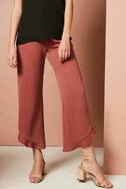 Three Eighty Two Ruth Ruffle Pant - Front full body