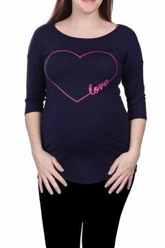 Shoptiques Product: Love Heart Graphic Top