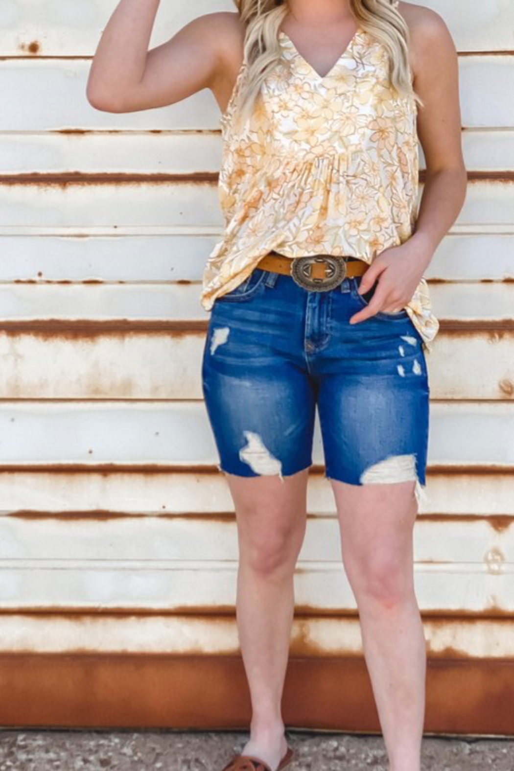 Dear john  Ruthie Bermuda Shorts - Front Cropped Image