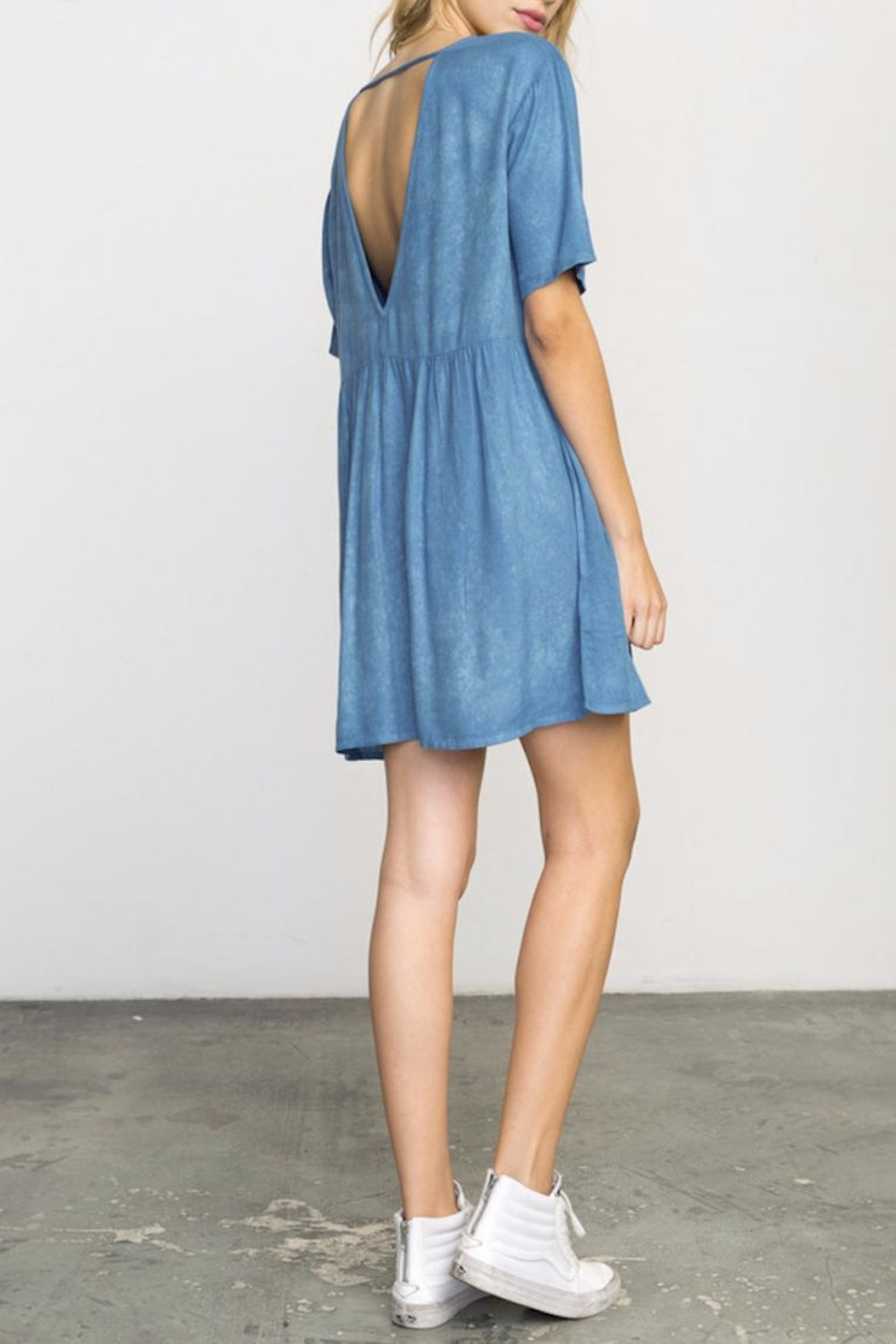 RVCA Baby Doll Dress - Front Full Image