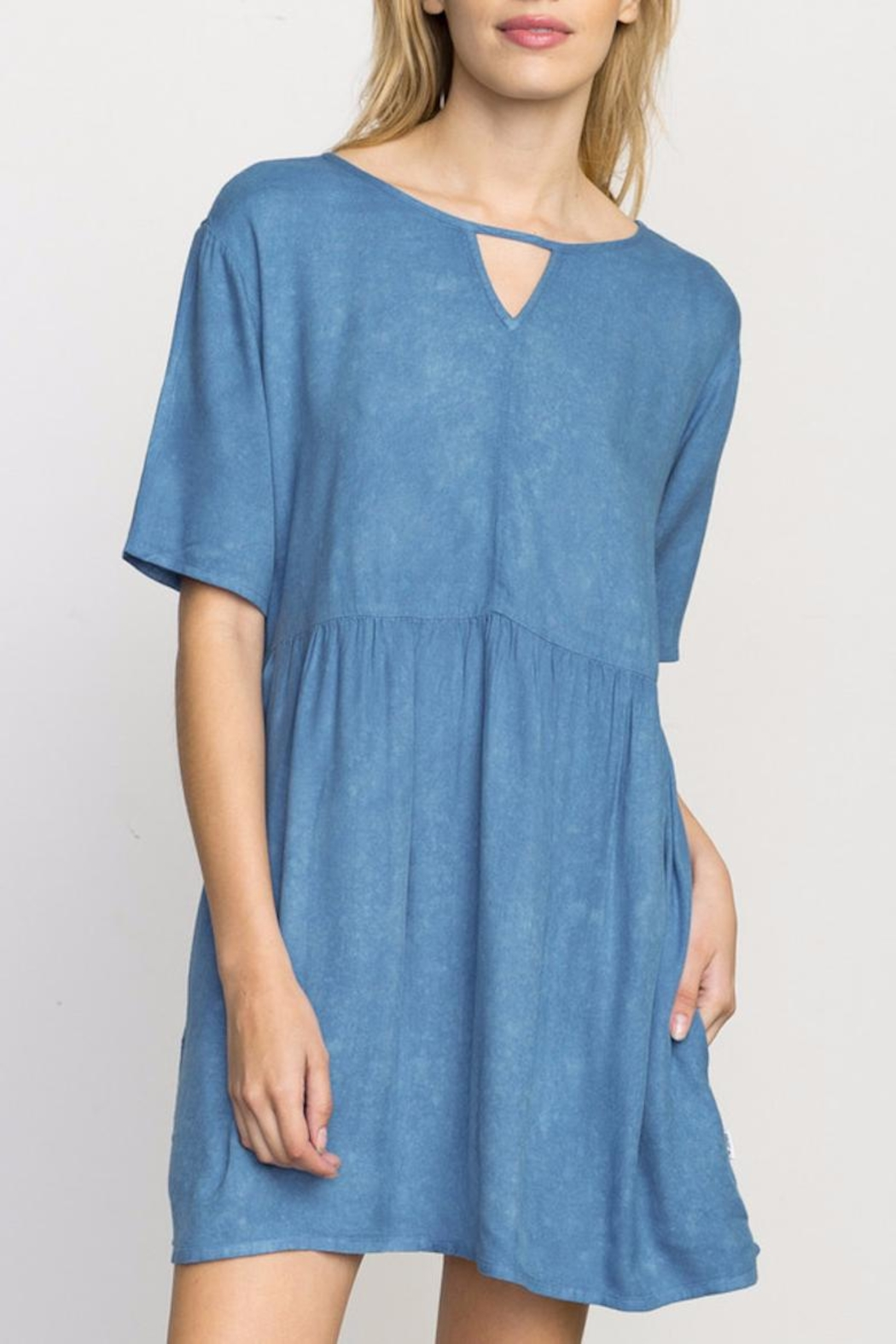 RVCA Baby Doll Dress - Front Cropped Image