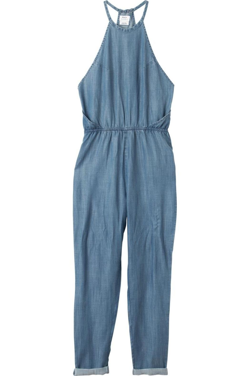 42e3af6a9a5d RVCA Chambray Jumpsuit from Ontario by Steel Style Garage — Shoptiques