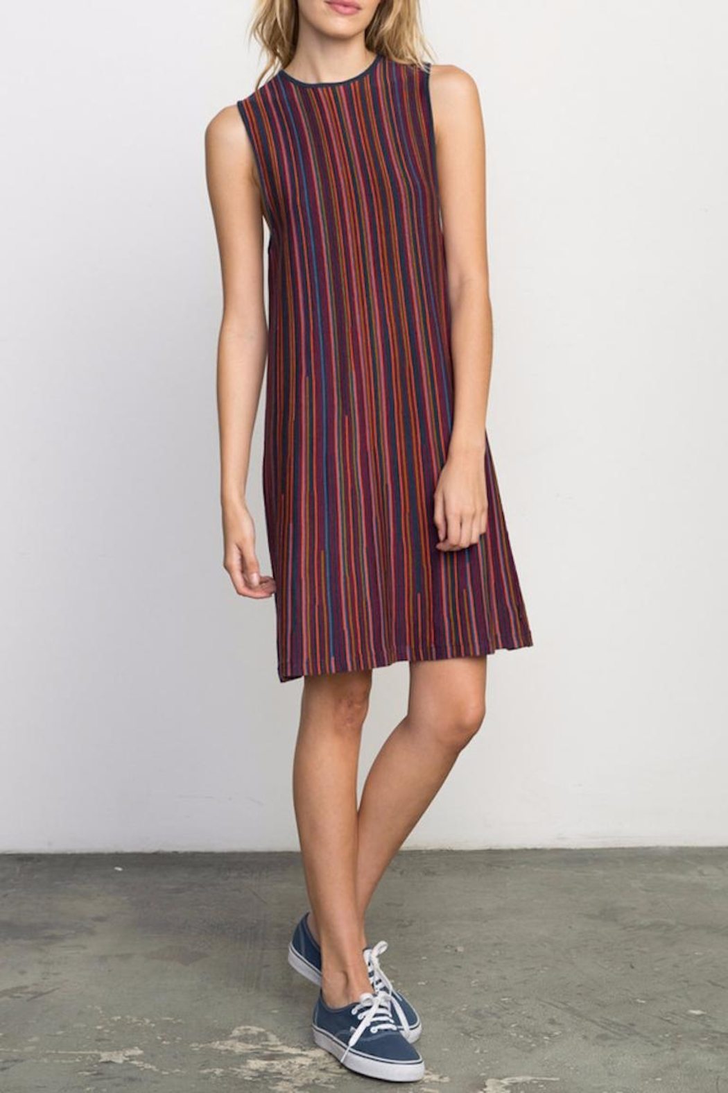 RVCA Foolish Sweater Dress - Front Cropped Image