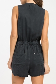 RVCA Hitched Woven Romper - Front full body