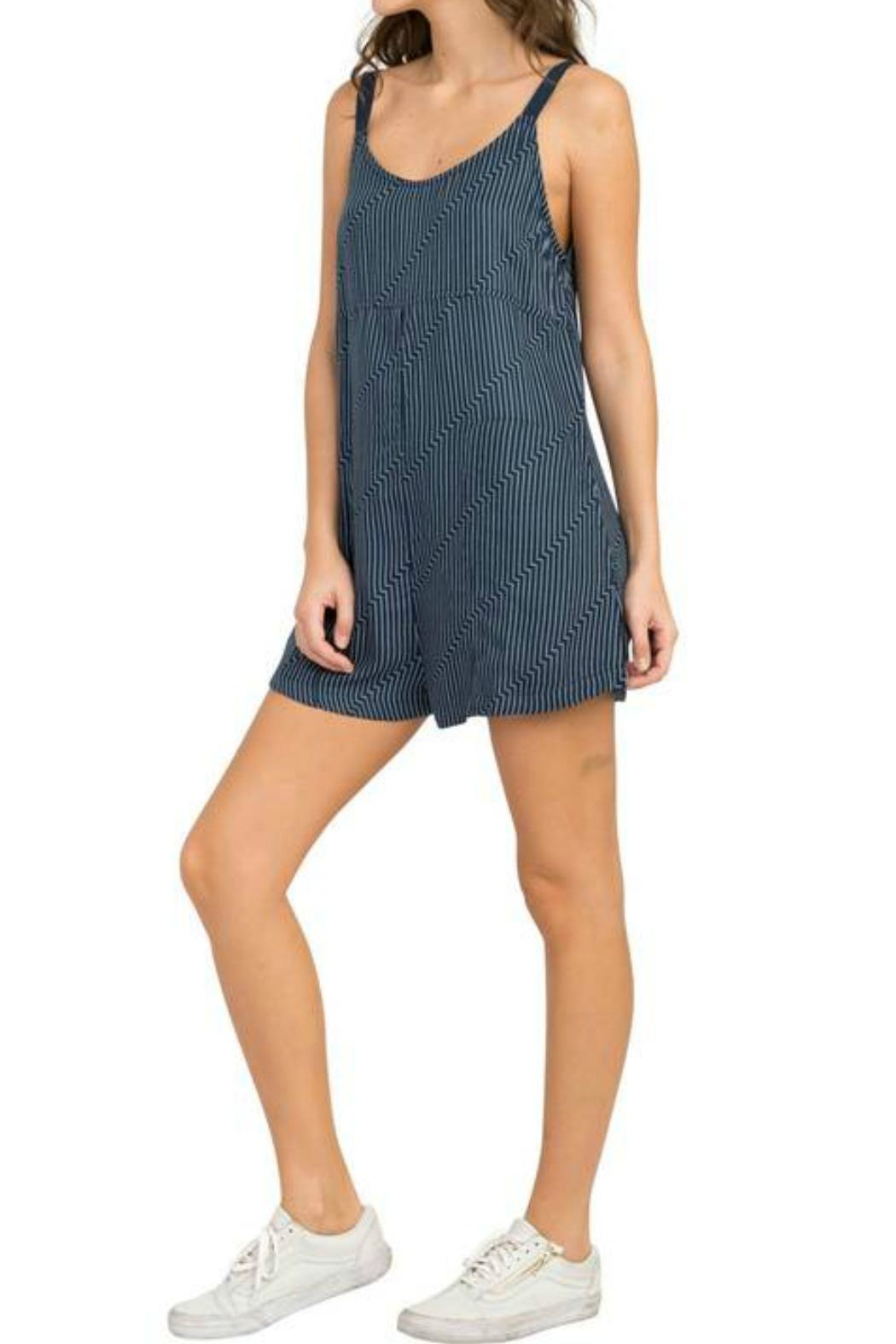RVCA Jury's Out Jumpsuit - Side Cropped Image