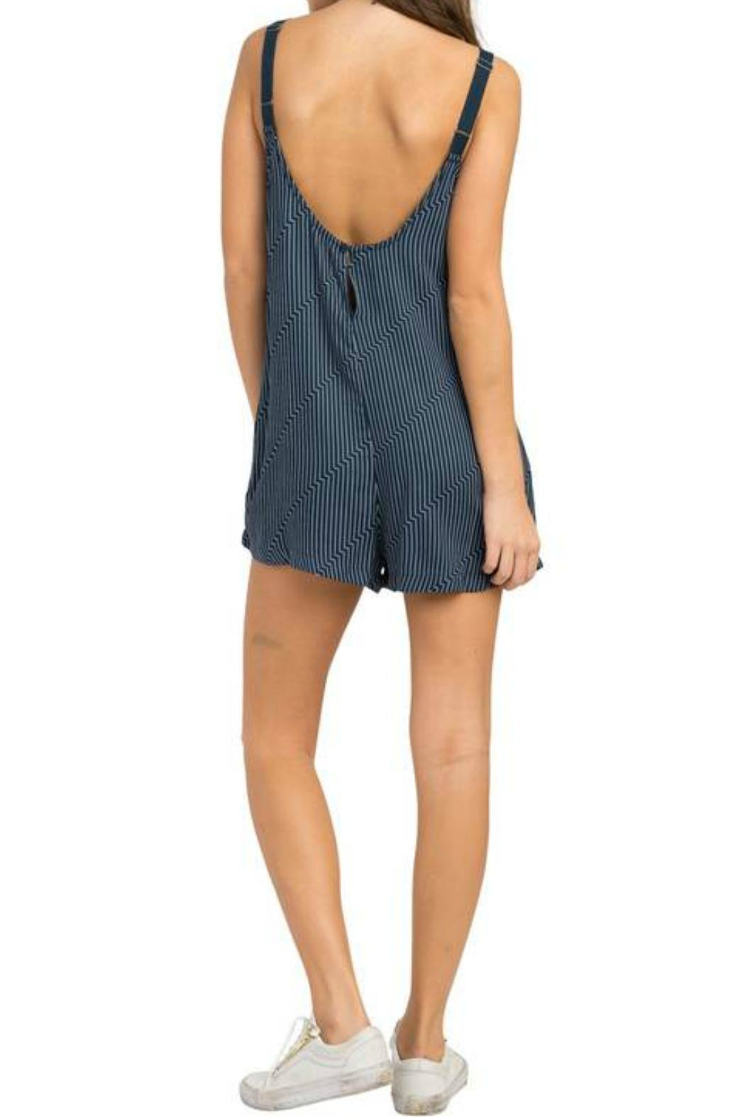 RVCA Jury's Out Jumpsuit - Front Full Image