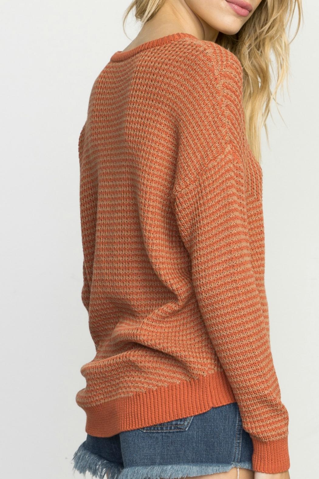 RVCA Light Up Sweater - Side Cropped Image