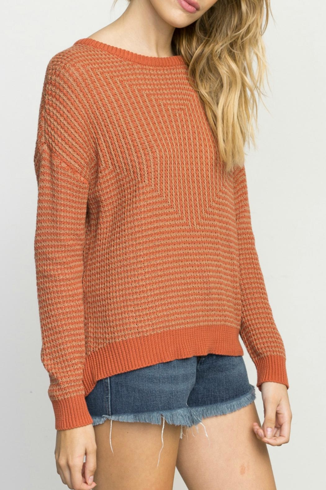 RVCA Light Up Sweater - Front Full Image