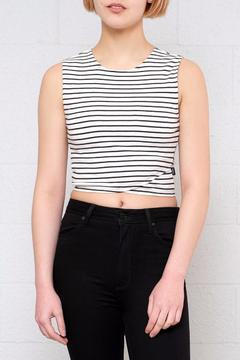 RVCA Striped Crop Top - Product List Image