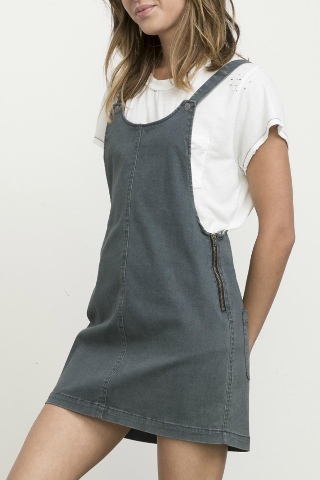 87d2bdfdc224 RVCA Oxley Overall Dress from Providence by Queen of Hearts and ...