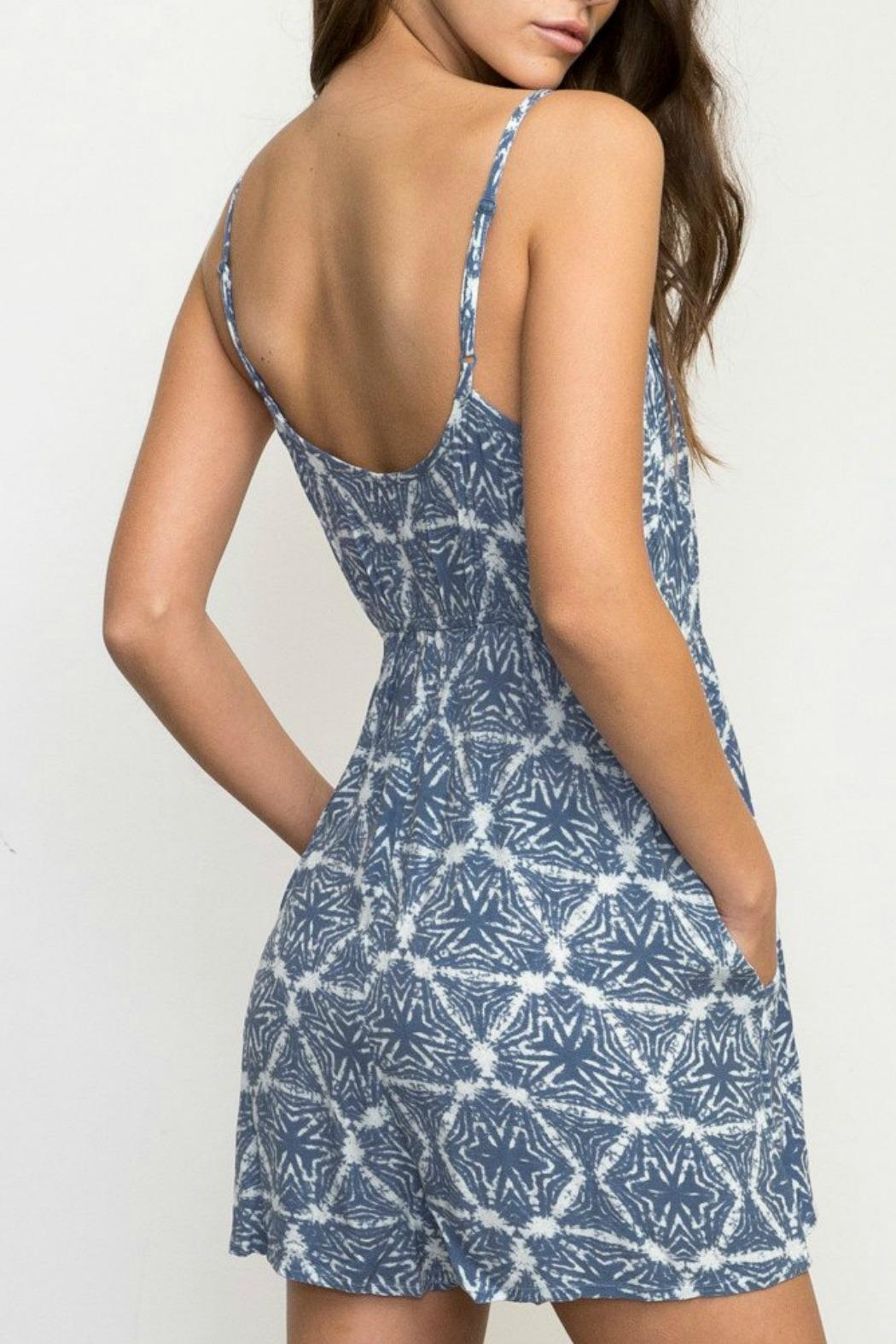 RVCA Triangle Printed Romper - Front Full Image