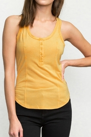 RVCA Racerback Tank Top - Front cropped