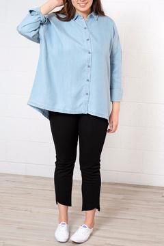 RVCA Relaxed Chambray Shirt - Alternate List Image